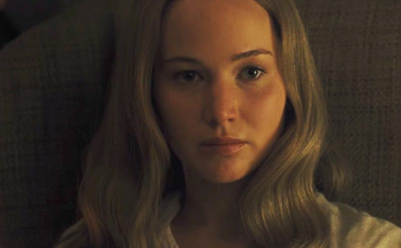 Jennifer Lawrence and Javier Bardem star in Darren Aronofsky's film 'mother!'