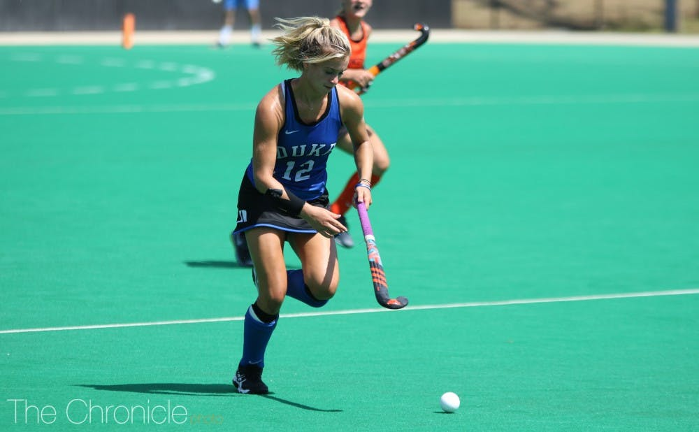 Duke Field Hockey Holds Off Late Surge From No 15 Princeton At Home
