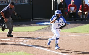 The Blue Devils only mustered four hits at South Carolina.