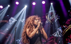 "SZA performs in August. Her debut studio album ""Ctrl"" was one of the most well-received releases of 2017."