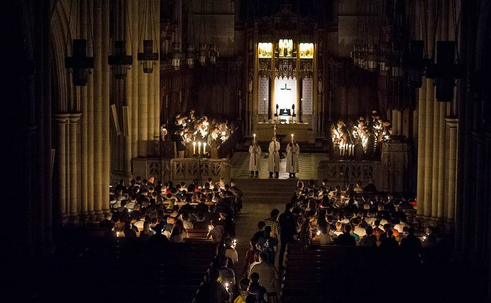all hallows service (duke today)