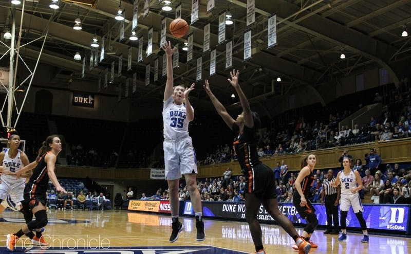 Erin Mathias has started every game and is averaging close to double figures in scoring this season.
