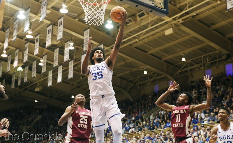 Marvin Bagley III put up another dominant double-double to help Duke's offense but struggled mightily at the charity stripe.