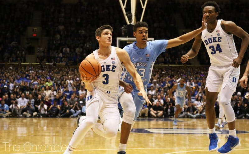 Grayson Allen said some of his favorite memories are from the Final Four his freshman year.