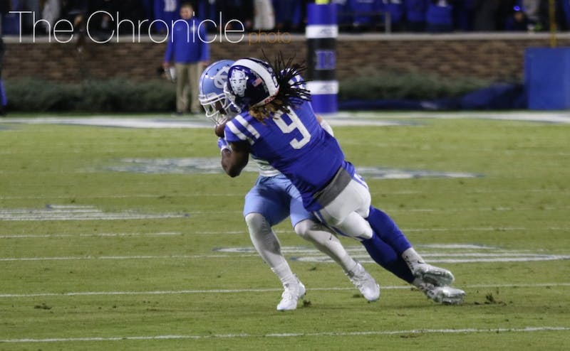 Duke's secondary gave up numerous explosive plays last year and only returns one starter.