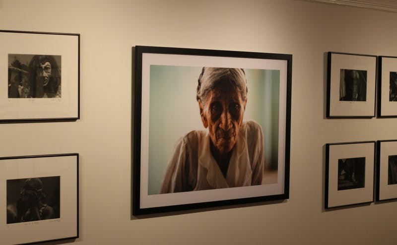 "Sandra Luz Barroso's photography exhibit ""For Catalina's Time"" is on display in the John Hope Franklin Center through Dec. 6."