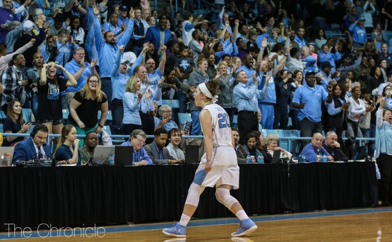 Duke had a series of miscues on both offense and defense to give the Tar Heel faithful their first victory against their rivals in eight tries.