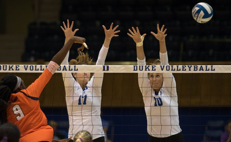 Anna Kropf reached double digits in kills for just the second time of the year Sunday afternoon.