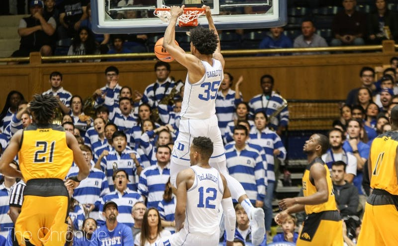 Marvin Bagley III was one of four Blue Devils with at least 20 points.
