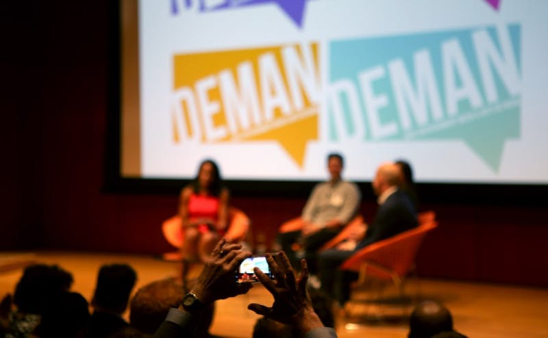 Friday and Saturday's DEMAN Arts & Media Weekend saw alumni from creative industries converge on Duke for two days of panels and workshops.
