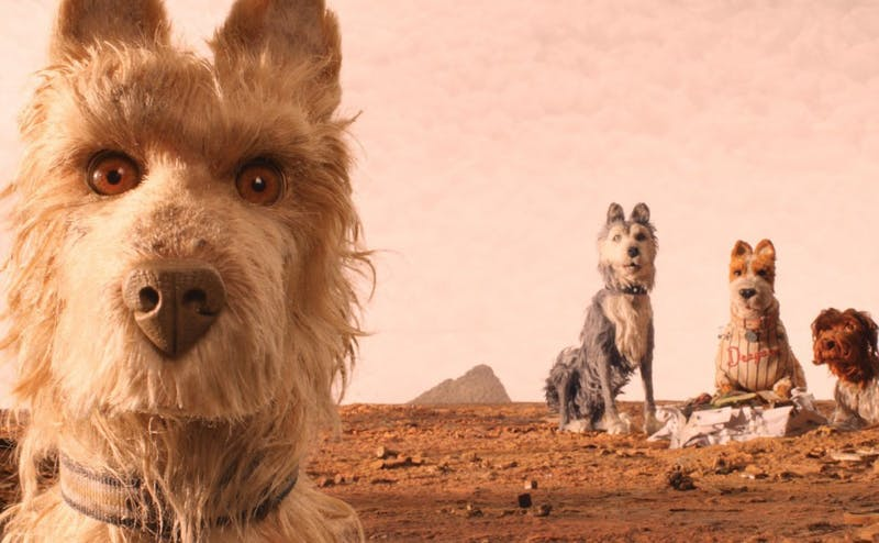 "Wes Anderson's latest film, ""Isle of Dogs,"" takes place in a dystopian version of Japan, wherein all dogs are banished from the country."