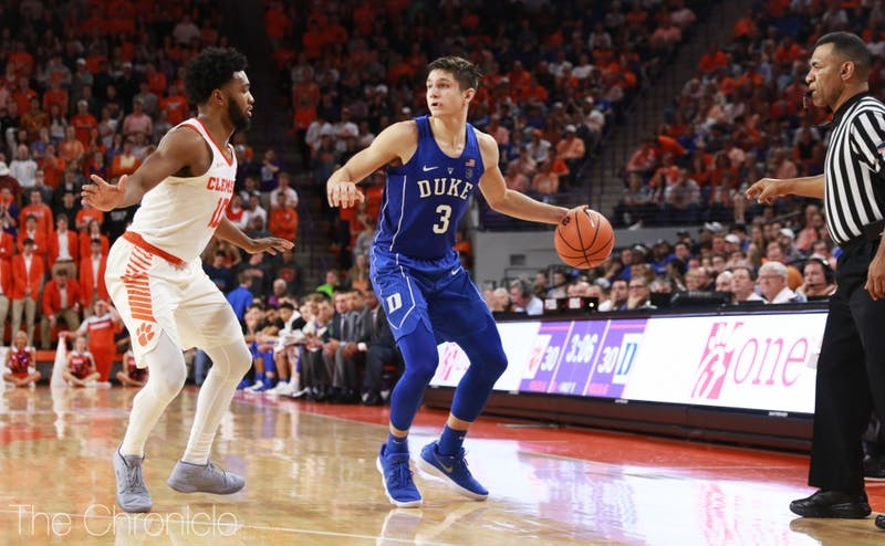 Grayson Allen is averaging more than 22 points in the three games Marvin Bagley III has missed and has more control of Duke's offense with the ball in his hands.