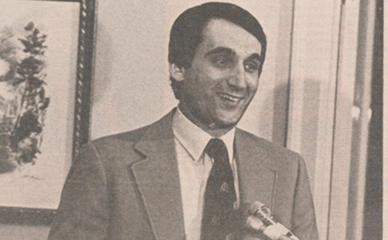 Mike Krzyzewski was introduced as Duke's head coach on March 18, 1980.
