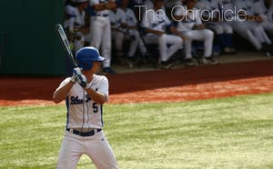 Max Miller put Duke on the board when N.C. Central committed a two-out error.