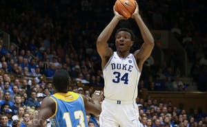 Wendell Carter Jr. anchored what became a stifling zone defense late in the season for Duke.