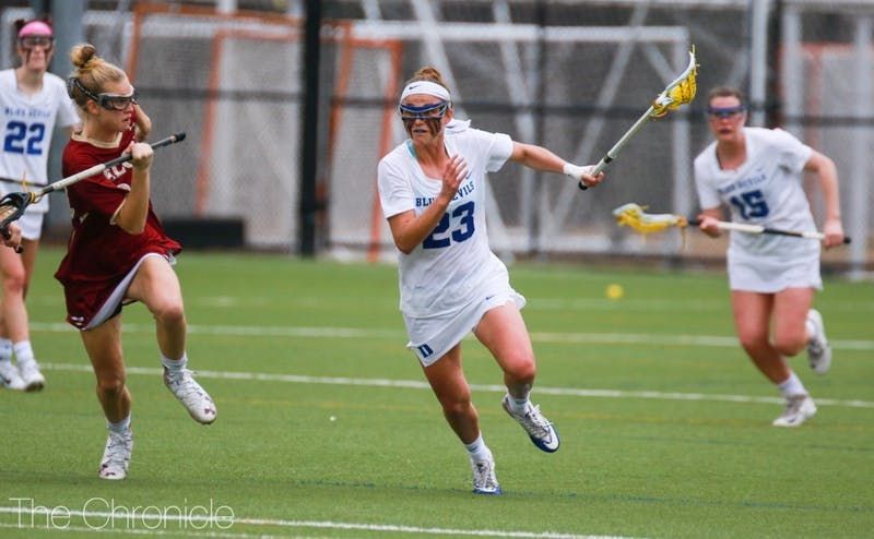 Senior captain Maddie Crutchfield will look to steady the young Blue Devils in their ACC opener Saturday.