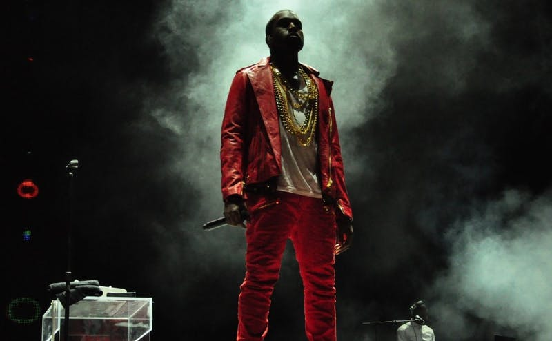 "Kanye West, pictured here performing at Lollapalooza Chill in 2011, released his eight studio album ""ye"" June 1."