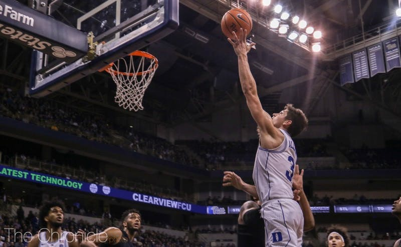 Grayson Allen has shot just 7-of-42 from deep in conference play.