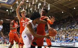 Marvin Bagley III led Duke to a comfortable win against Syracuse this season in his return from a knee sprain.