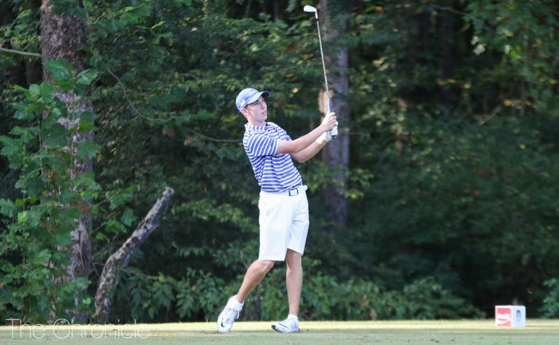 Evan Katz will be playing in his first spring tournament for Duke this week.