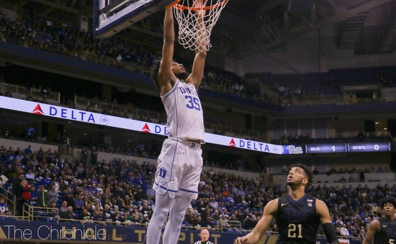 Marvin Bagley III had his fifth game of the season with at least 15 points and 15 rebounds.