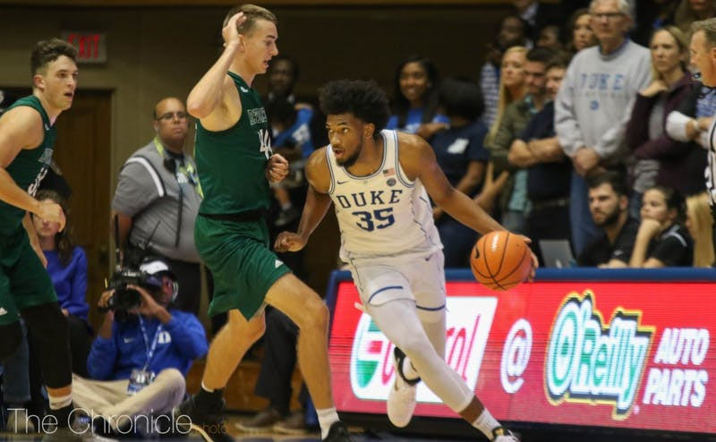 Marvin Bagley III is one of Duke's best athletes and could throw down several highlight-reel dunks in what will likely be his lone season at Duke.