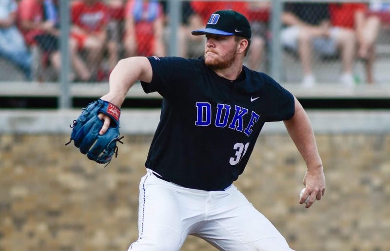Sophomore Graeme Stinson shut down the Red Raiders offense with six shutout innings Sunday.