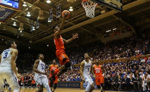 Tyus Battle scored at least 25 points in five ACC contests this season.