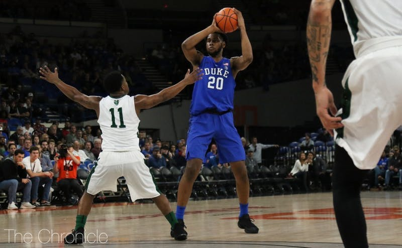 Marques Bolden will miss Wednesday's game with a grade 1 MCL sprain.