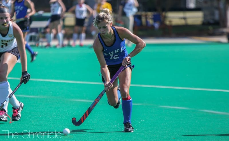 Margaux Paolino scored just four minutes into the extra session after Duke blew a two-goal lead in regulation.