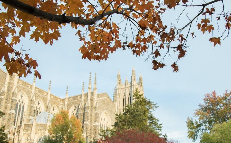 Duke fall chapel