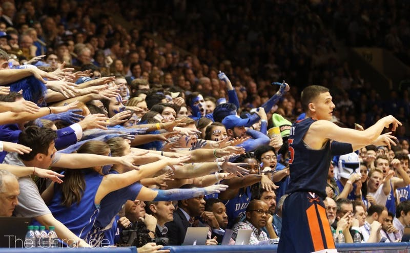 The Cameron Crazies have been criticized on campus for not being loud enough Saturday.