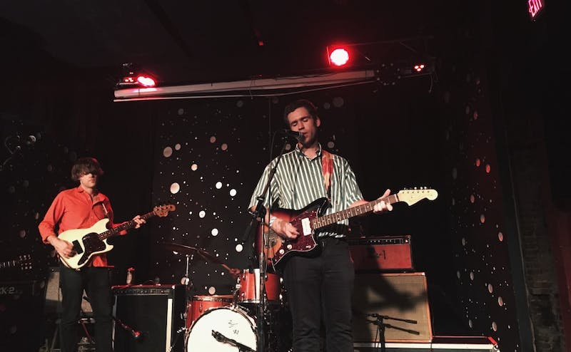 """Parquet Courts frontman Andrew Savage visited Durham's The Pinhook last week in support of his debut solo album """"Thawing Dawn."""""""