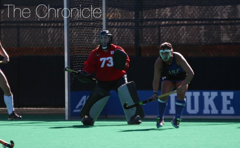 Goalkeeper Sammi Steele has helped Duke have the sixth-best goals against average in the nation.