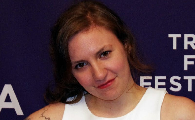 """""""Girls"""" creator, writer and star Lena Dunham came under fire last fall for her defense of an accused rapist."""