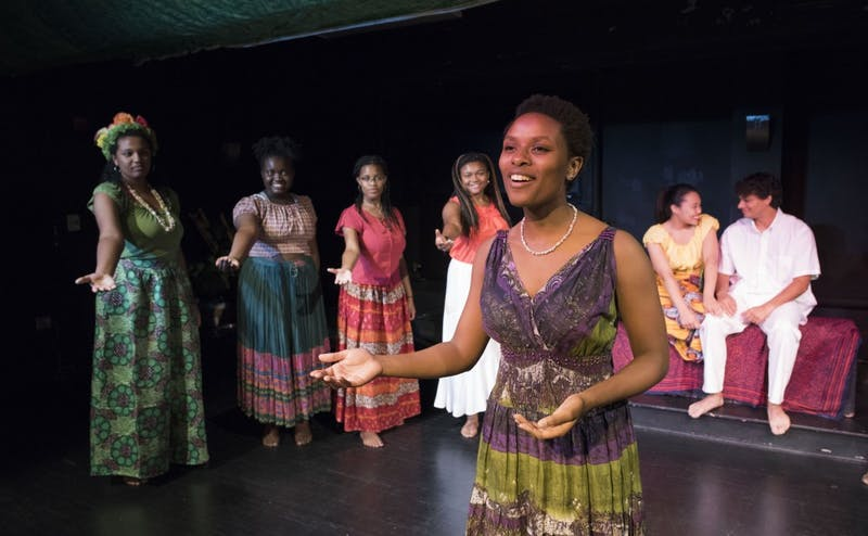 "Duke Players' first musical of the year, ""Once on this Island,"" runs in Brody Theater Oct. 21 to Oct. 29."