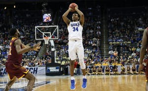 Big man Wendell Carter Jr. has learned to be a serious threat from the perimeter.