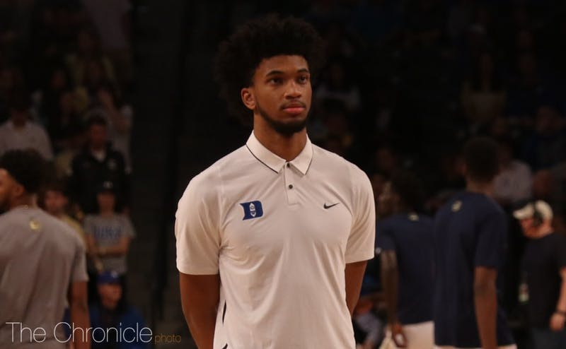 Marvin Bagley III has missed two straight games with a mild knee sprain.
