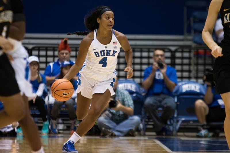Lexie Brown finished two rebounds and two assists shy of a triple-double Wednesday.