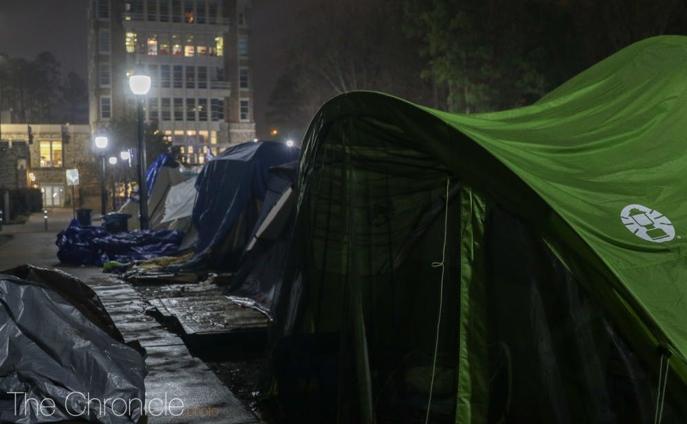 kville & What it took to be the first tent in line for Dukeu0027s game vs ...