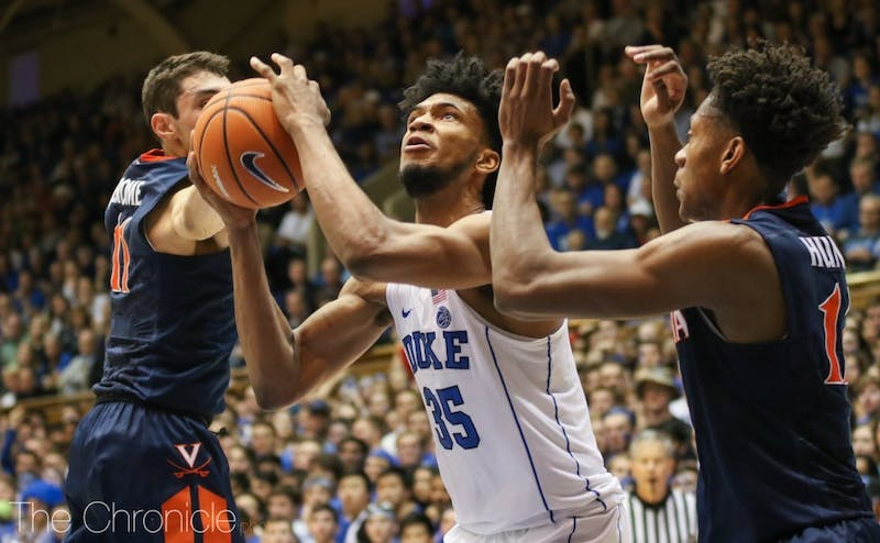 Marvin Bagley III could have his way against Notre Dame's frontcourt without an injured Bonzie Colson.