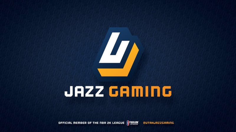 The logo of Jazz Gaming, the Utah Jazz NBA 2K League affiliate that drafted Michael Stam. Photo courtesy of Jazz Gaming.