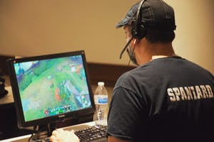 UNC Esports held their biannual gamefest on Saturday in Sitterson Hall.