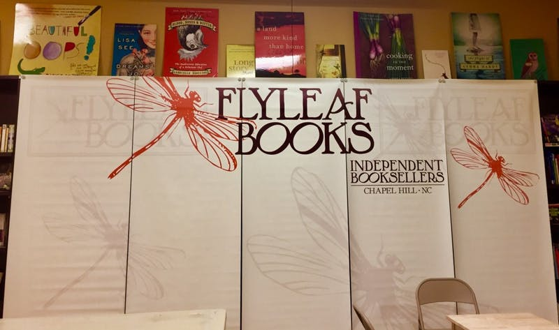 """Works from """"Twenty-Five Short Plays: Selected Works from The University of North Carolina Long Story Shorts Festival, 2011-2015"""" were performed at Flyleaf Books."""