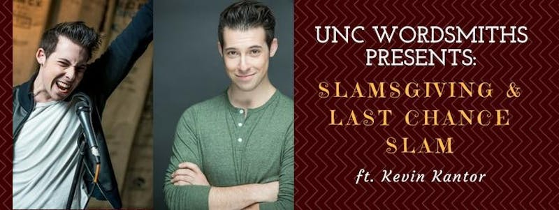 UNC Wordsmiths Slamsgiving is Nov. 11 at 5 p.m. at the Campus Y. Courtesy Tianzhen Nie.