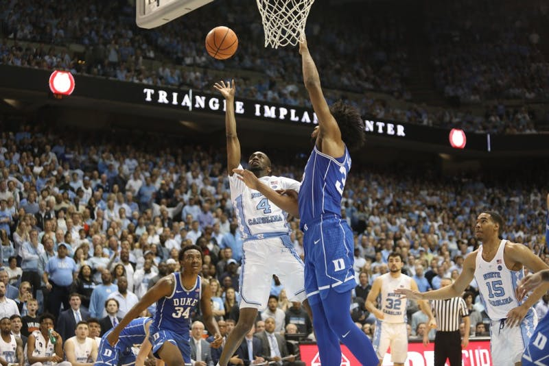 UNC beats Duke at home, 82-78