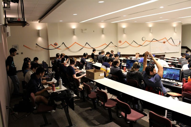 UNC eSports Club, Carolina Union Activities Board and the Residential Housing Association are hosting a League of Legends World Championship watch party Saturday. Photo courtesy of Anne Chao.
