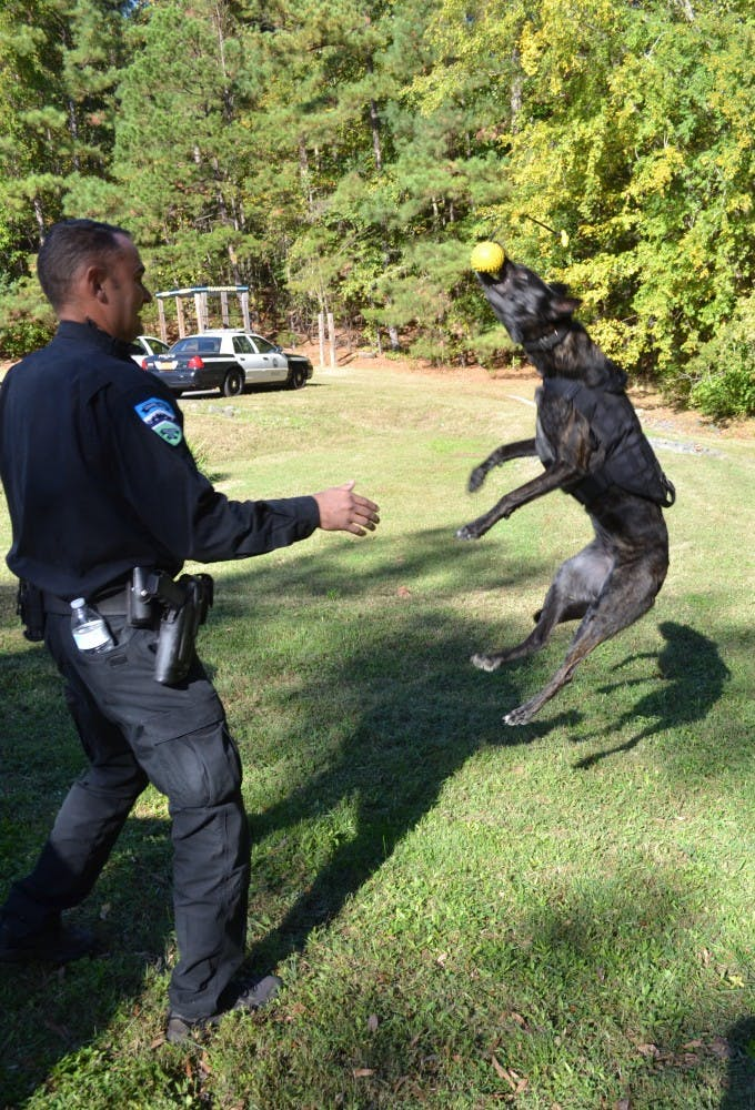Furry friends provide help to local police