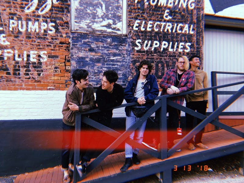 HATE DRUGS, an indie/surf rock band from California, is performing at Local 506 on Wednesday. Photo courtesy of David Caploe.