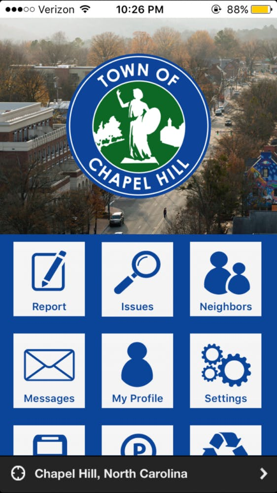 There's an app for that – Chapel Hill brings town maintenance to the 21st century